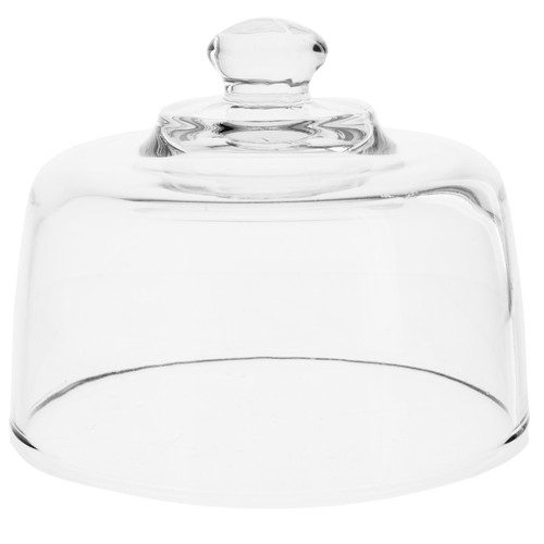 """6.5"""" Glass Cheese Dome"""