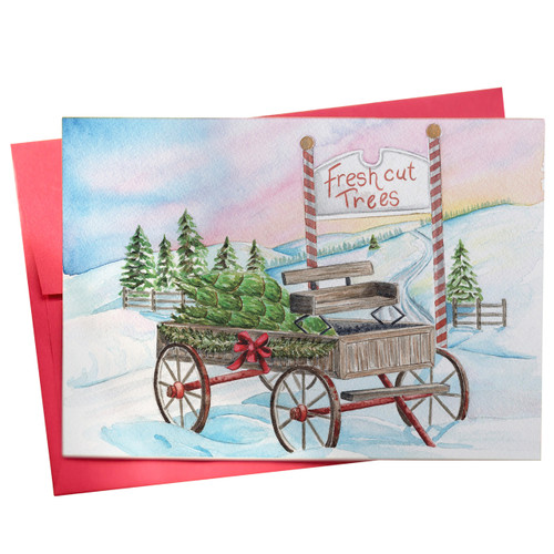 The Perfect Pine Greeting Card