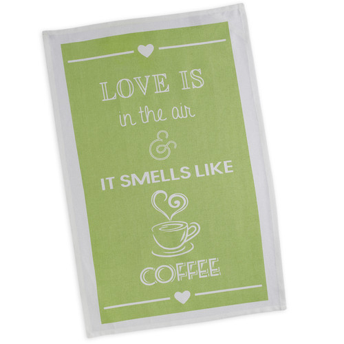 Love and Coffee Tea Towel