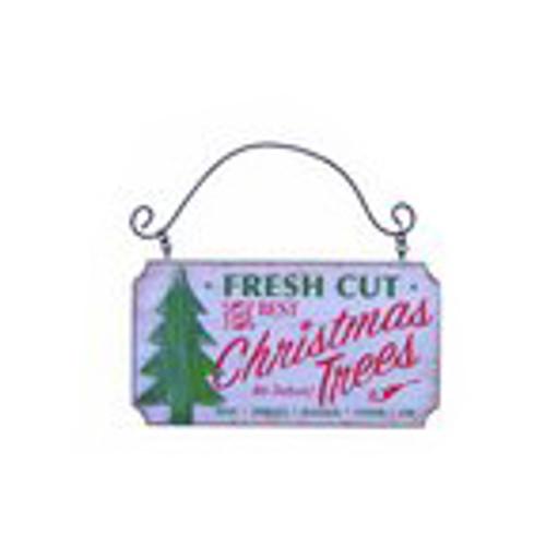 Fresh Cut Christmas Trees Wall Ornament
