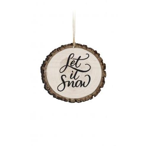 Barky Ornament - Let it Snow
