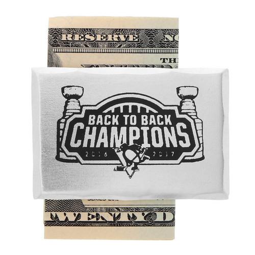 Pittsburgh Penguins Back to Back Money Clip