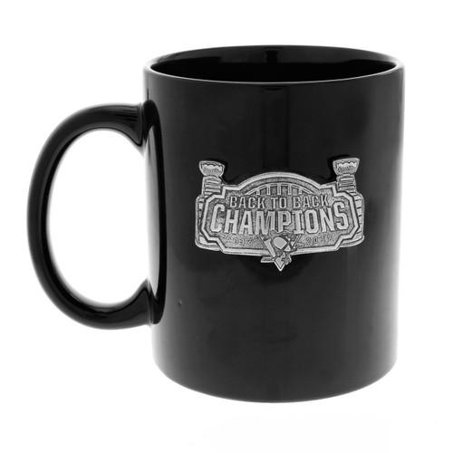Pittsburgh Penguins Back to Back Champions Coffee Mug