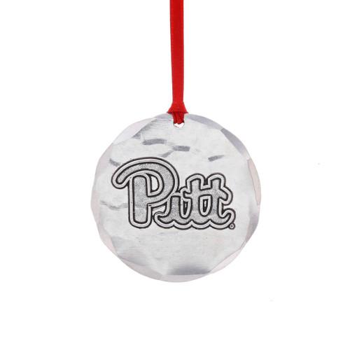 University of Pittsburgh Round Ornament