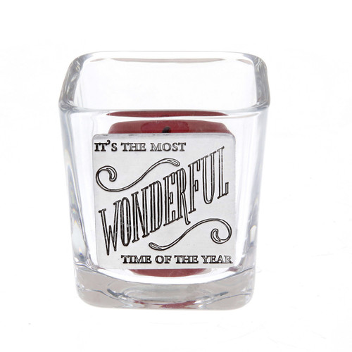 Its the Most Wonderful Time of the Year Votive Holder