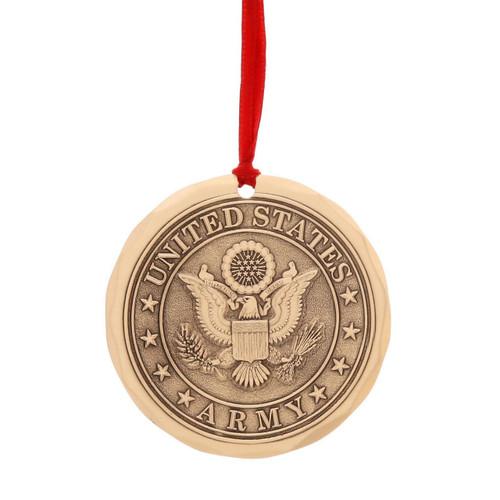 US Army Ornament (Bronze)