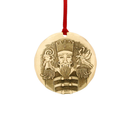 2018 Annual Christmas Ornament - The Nutcracker- Bronze