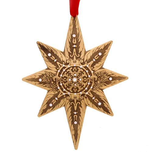 2018 Limited Edition Centennial Star True North (Bronze), annual, swarovski, christmas, ornament, christmas ornament,