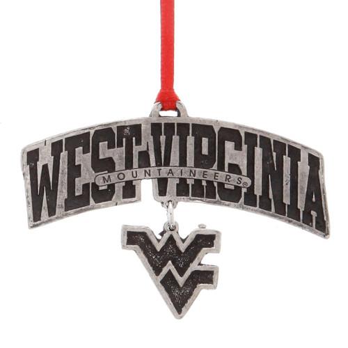 West Virginia Logo Dangling Ornament