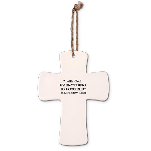 Faith Cross Ornament