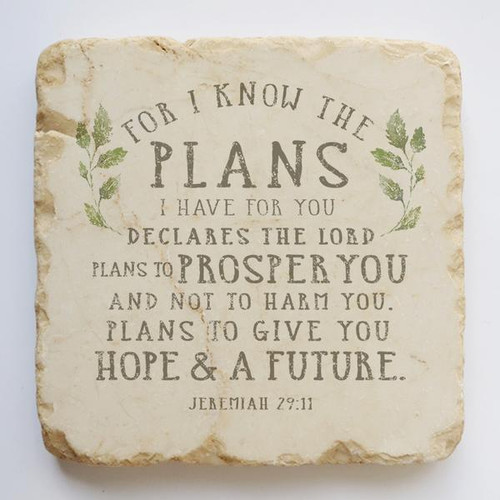 The Plans I Have for You Small Scripture Stone