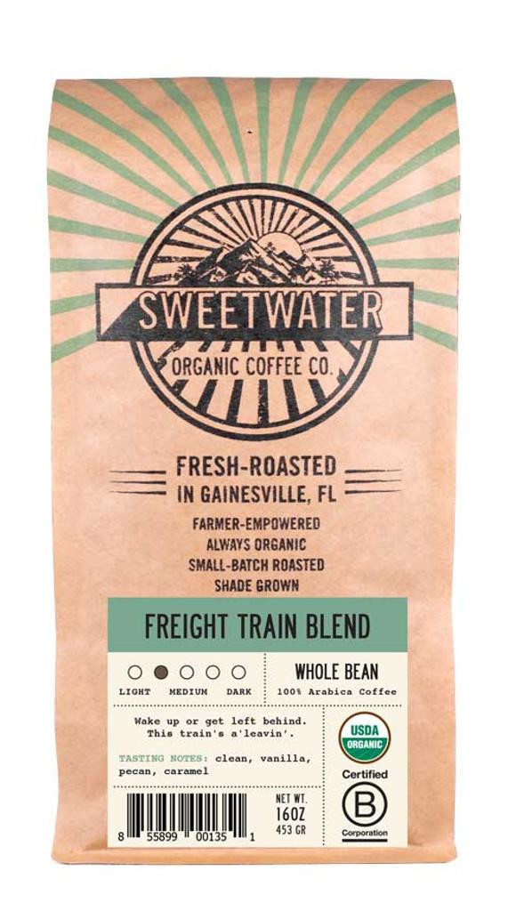 Freight Train Light Roast Fair Trade Organic Coffee