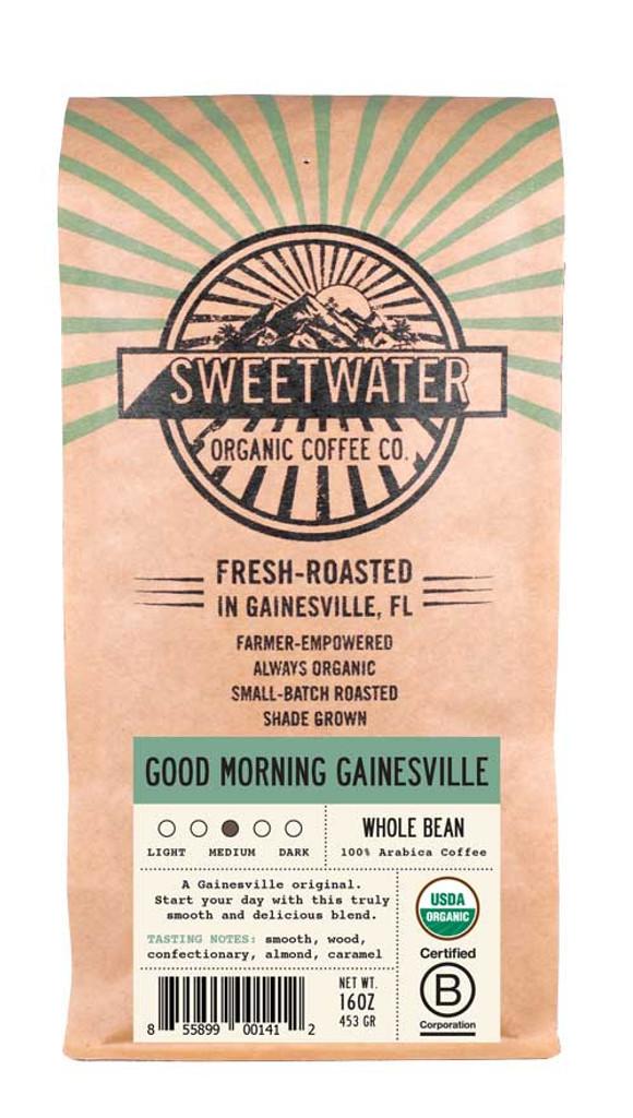Good Morning Gainesville Full City Roast Fair Trade Organic Coffee