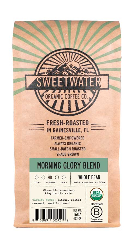 Morning Glory Full City Roast Fair Trade Organic Coffee