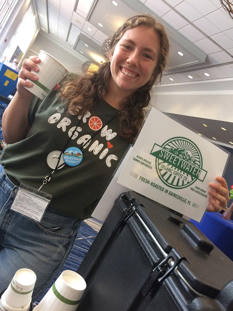 Sweetwater Organic  Coffee at the Florida Organic Growers Organic Food & Farming Summit