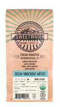 Decaf Knockout Artist Dark Roast Fair Trade Organic Coffee