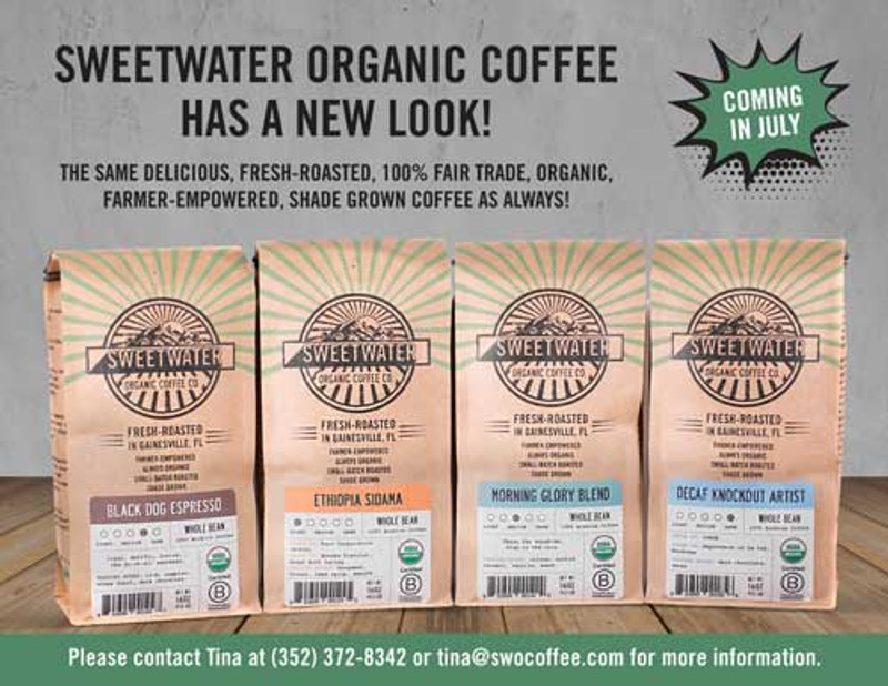 Sneak Preview... Fresh New Look, Same Great Coffee!