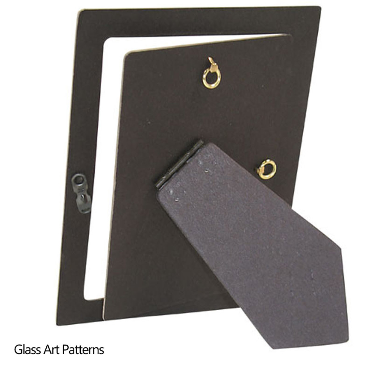 Go Fusing | Picture Frame Easel Back 8 x 10 Rectangle