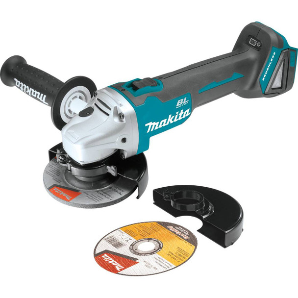 "18V LXT Lithium-Ion Brushless Cordless 4-1/2"" Cut-Off/Angle Grinder, Tool Only"