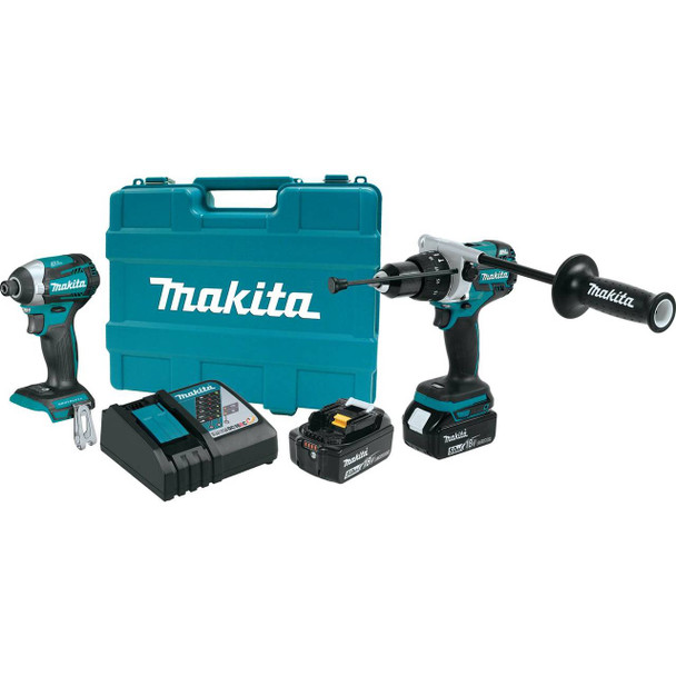 18V LXT® Lithium-Ion Brushless Cordless 2-Pc. Combo Kit (5.0Ah) XT268T