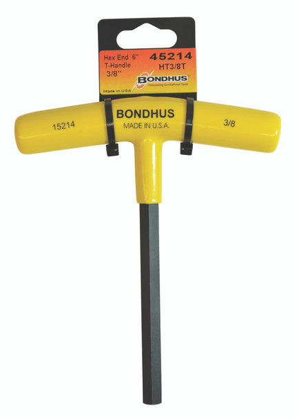 """1/2""""   Hex T-Handle 6"""" Length     Tagged & Barcoded - 45216 - Quantity: 1"""