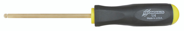".050"" Goldguard Plated Ball End Screwdriver - 38602 - Quantity: 2"