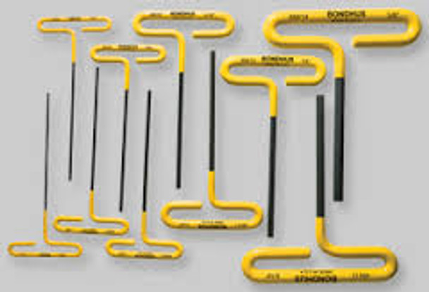"1/4"" Loop Hex T-Handle Cushion Grip 9"" - 46512 - Quantity: 2"