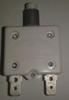 1600-037-220 Push to reset circuit breaker, 22 amp, white button, spade terminals