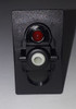 V1D1BC0B Carling V Series Rocker Switch, On-Off, Single Dependent Red LED