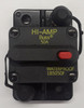 185050F-01-1, 50 amp, circuit breaker, surface mount, bussmann, 180 series,  manual reset, push to trip button, tripped indicator bar