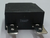 mechanical products 7 amp push to reset circuit breaker, black button, quick connect terminals, 1480-303-070