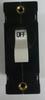 Carling Technologies Circuit breaker, 25 amp, A Series, single pole, magnetic AA1-B0-34-625-3B1-C