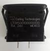 L11B1S001-000000-000 Carling SPST L Series Rocker Switch, On-Off