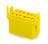 Terminal Connector Housing for L Series Rocker Switch, Yellow