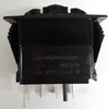 V8D1160B, switch, marine, auto, rocker, double momentary, single pole, sealed, Carling, V Series, 1 independent lamp