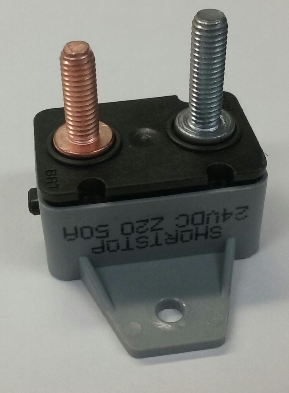 Cooper Bussmann 123A50-A1P Short Stop 50 amp Circuit Breaker