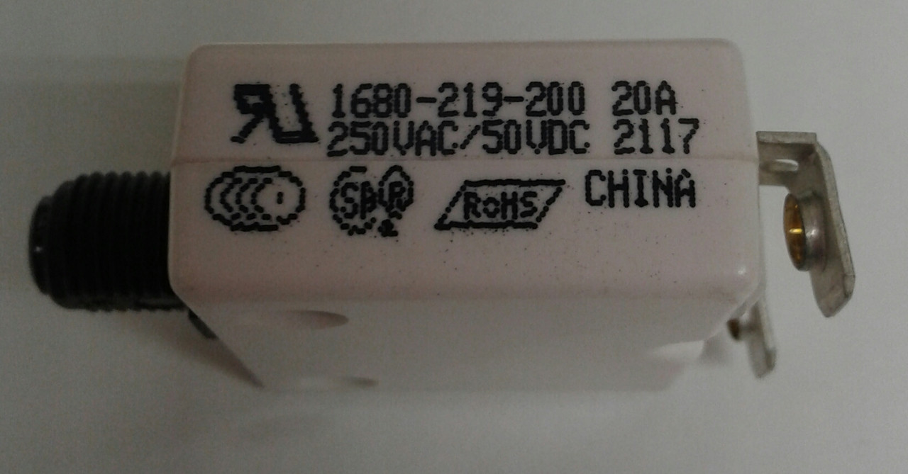 1680-219-200 Mechanical Products push to reset 20 amp circuit ...