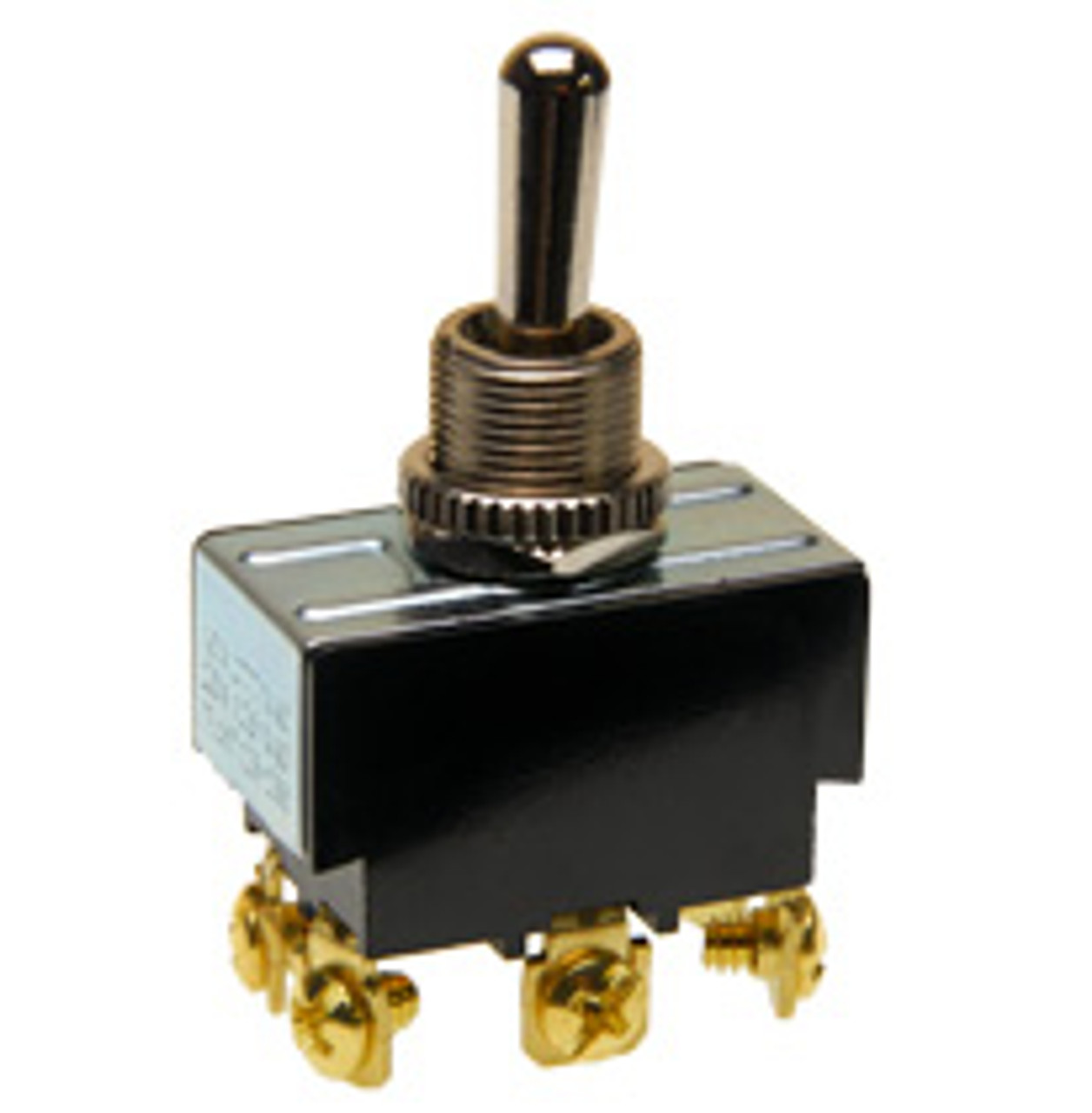 Toggle Switch Double Pole On-Off-Momentary On Screw Terminal