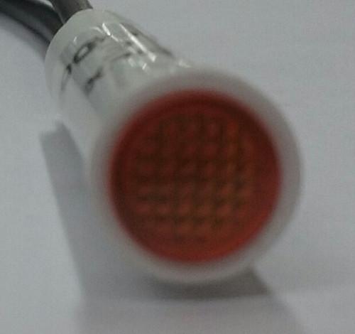 1852-1-10-20320 Solico 250 Volt Neon Round Amber Indicator Light