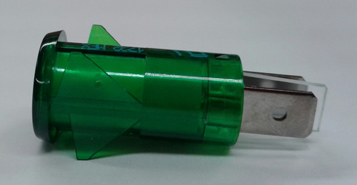 3150-4-00-57640 Solico 125 volt Neon Green Round Indicator Light