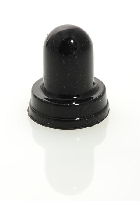 1680-330-1 Circuit Breaker Boot, Black, 3/8-27 thread, Dress nut style