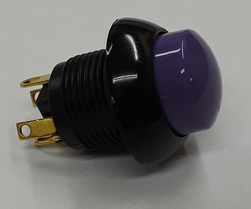 P9-213127 Two Circuit Momentary Otto Push Button with Raised Violet Button