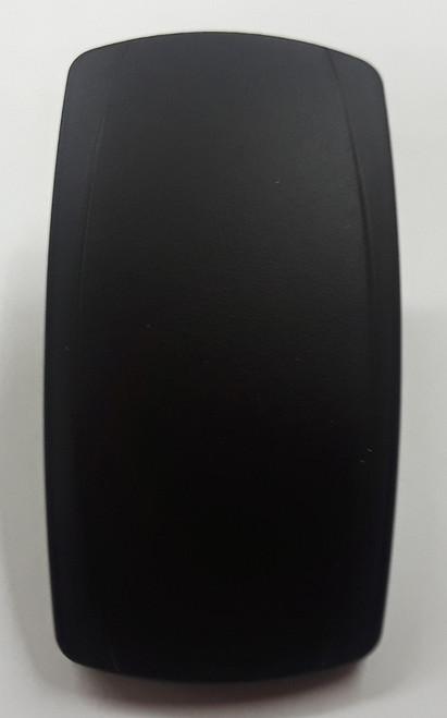 VVPZC00-000 Black Laser Etchable Carling Rocker Switch Actuator, No Lens