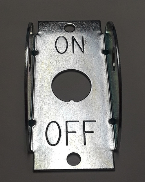 1213 Carling Toggle Switch Guard marked On Off, 272-07293