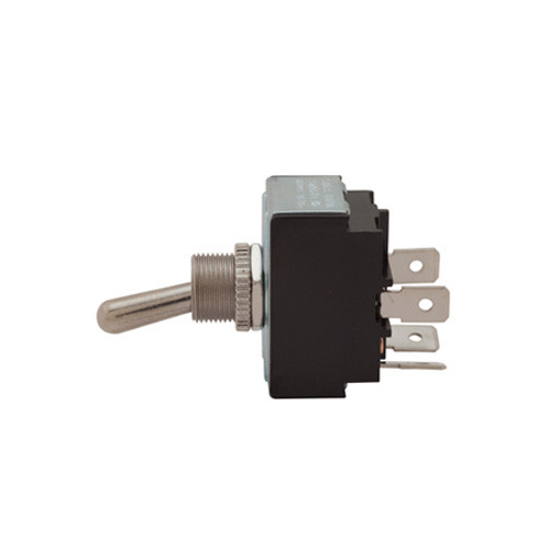 double pole on-off toggle switch, quick connect terminals