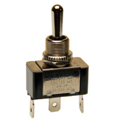 single pole momentary on, off, on toggle switch, quick connect terminals