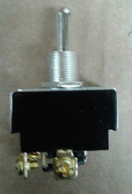 reversing toggle switch, momentary, spring return to center off position, double pole, screw terminals with jumpers