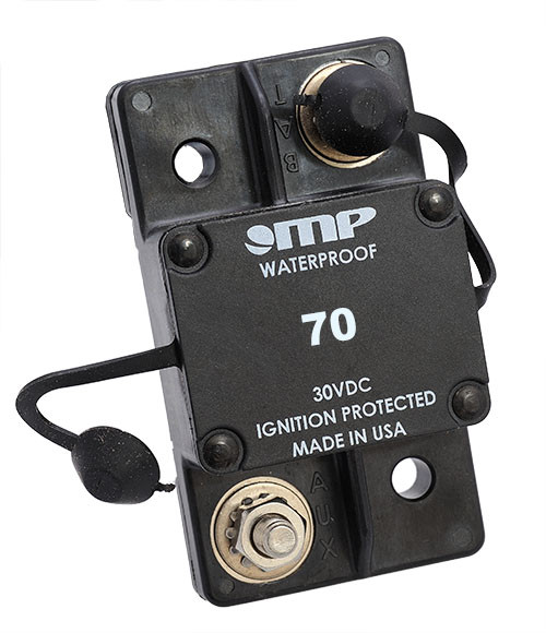 171-S0-070-2 Mechanical Products 17 Series  70 Amp Auto Circuit Breaker, Surface Mount