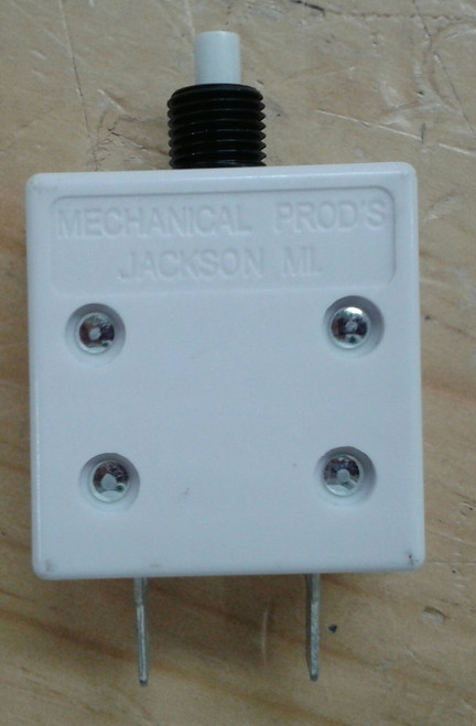 MP Push to Reset Breaker, 15 amp, 5000A interrupt, UL489, quick connects terminals, 252-001-150