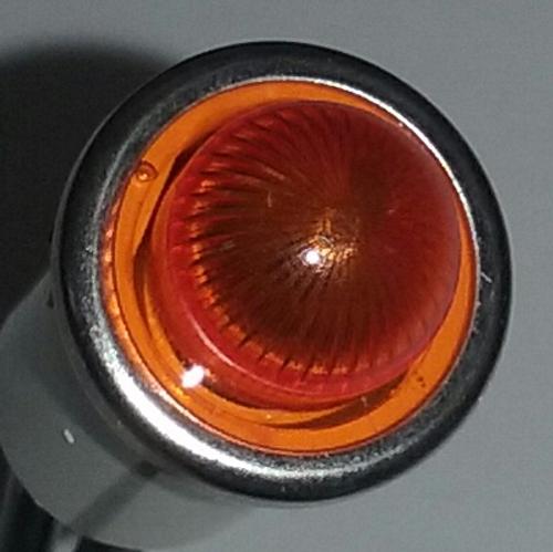 2952-1-11-40520 Neon 250 Volt Amber Indicator Light
